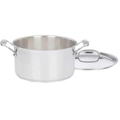 Chef's Classic 6 Qt. Stainless Steel Sauce Pot