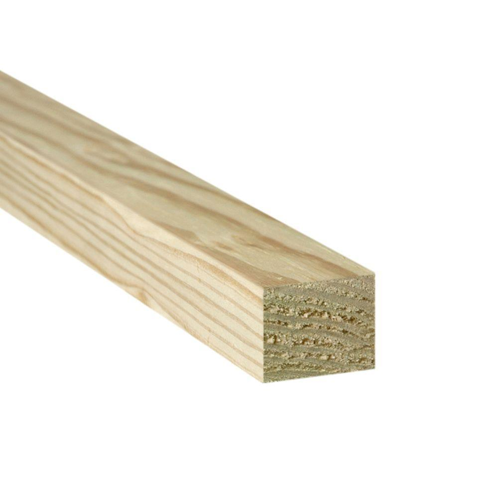 2 in. x 2 in. x 8 ft. Appearance Grade Pressure-Treated