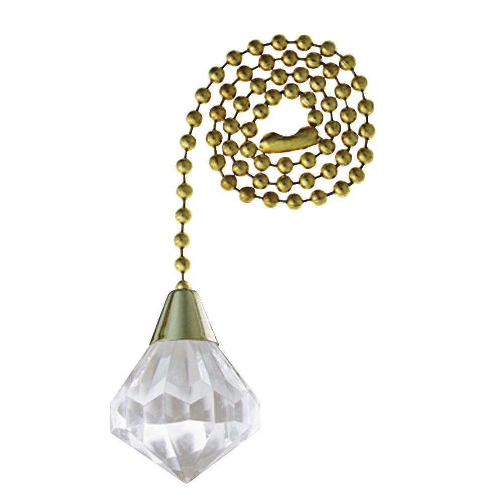 Acrylic Diamond Pull Chain