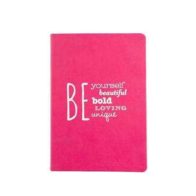 6 in. x 8 in. Be Bold Style Journal, Pink