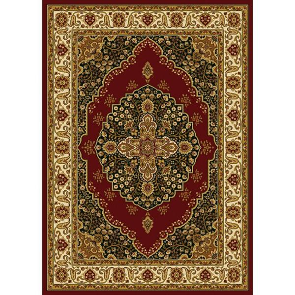Home Dynamix Royalty Red Ivory 8 Ft X