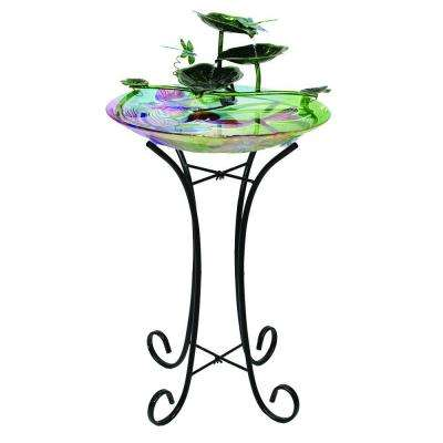 Dragonfly Fountain Birdbath