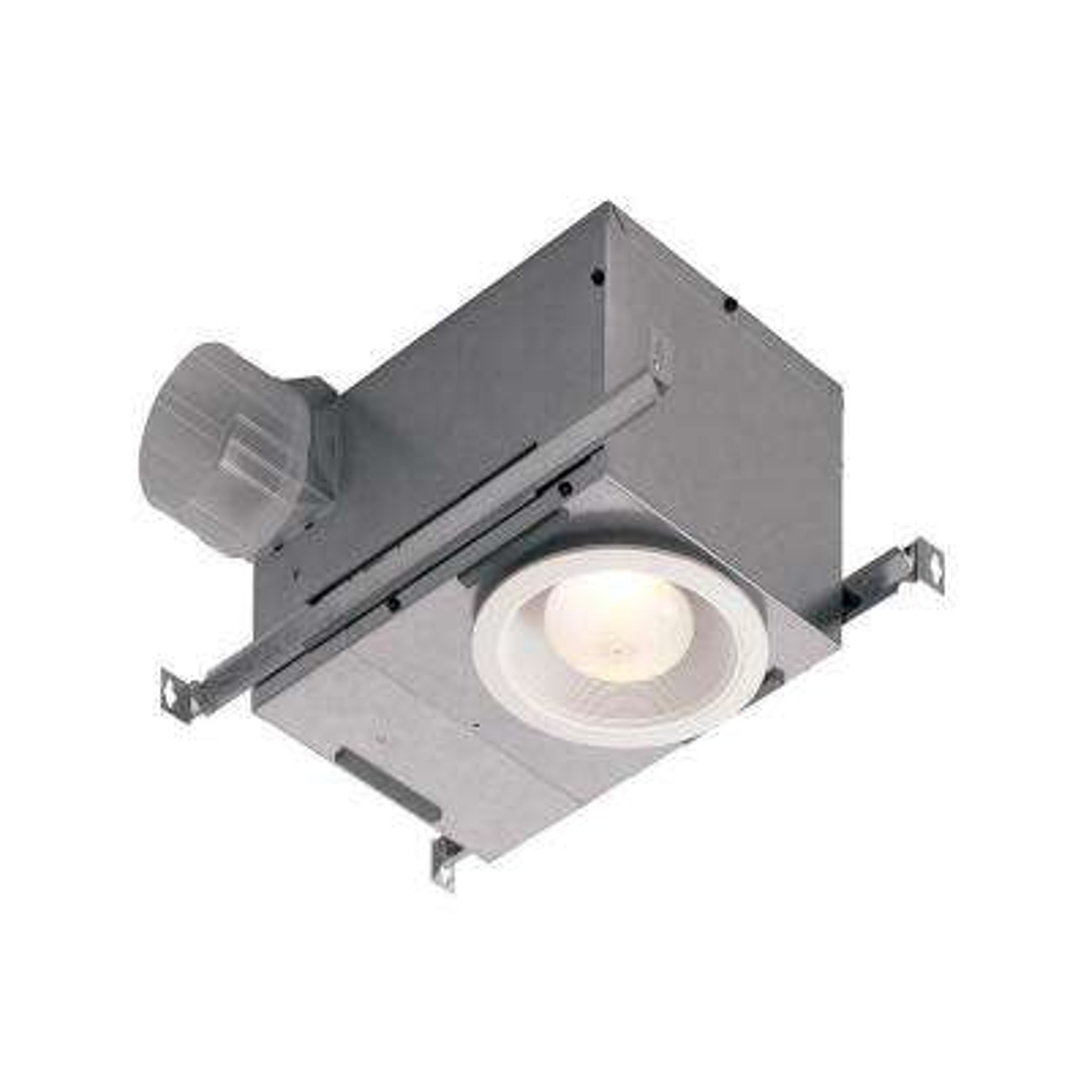70 CFM Ceiling Bathroom Exhaust Fan with Light, ENERGY STAR*
