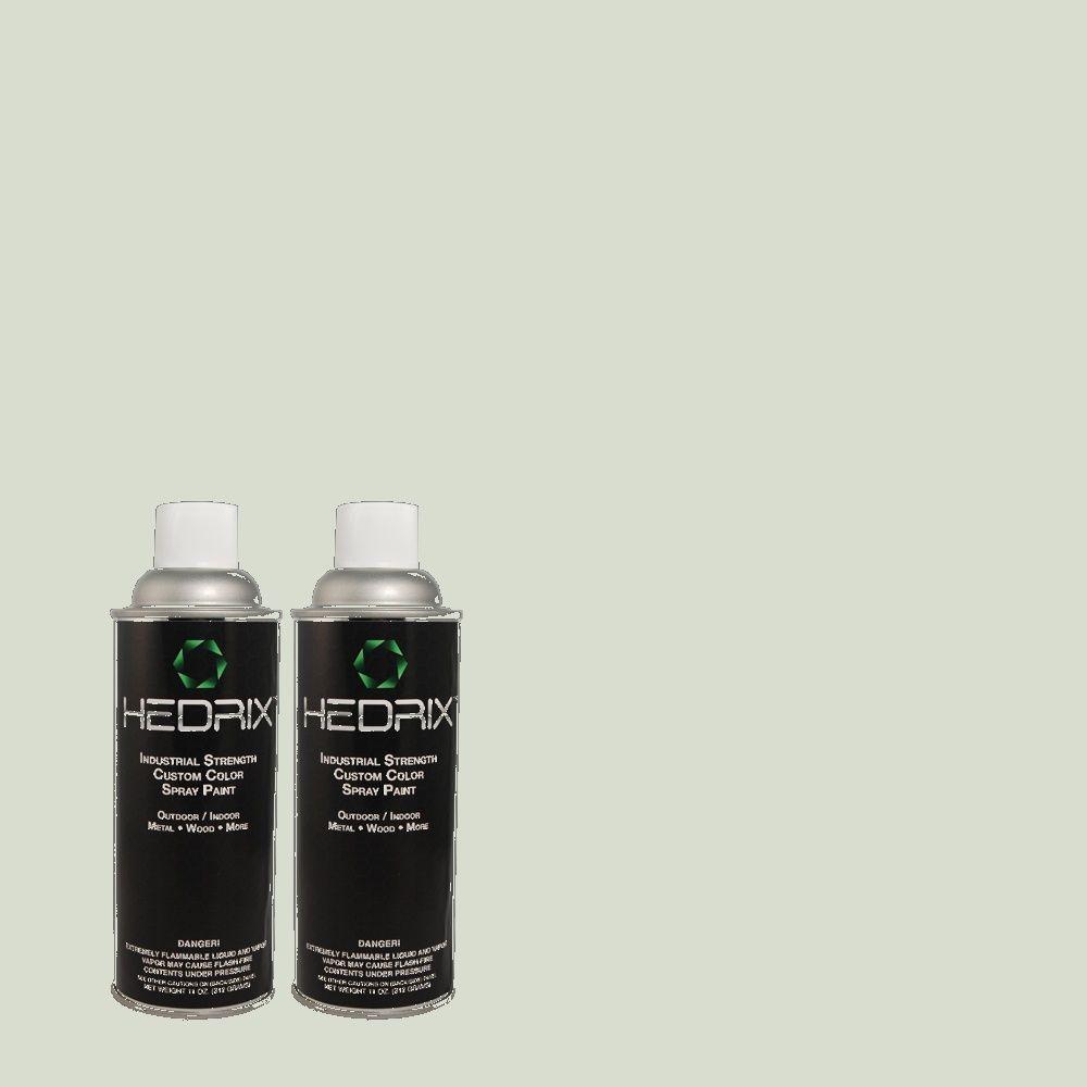 Hedrix 11 oz. Match of 845 Crystal Blue Low Lustre Custom Spray Paint (2-Pack)