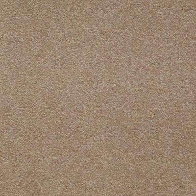 Carpet Sample - Overdrive II - Color Buckskin Texture 8 in. x 8 in.
