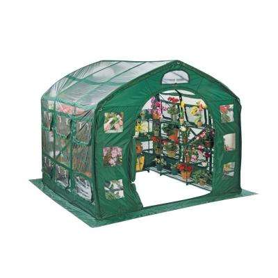 FarmHouse 9 ft. x 9 ft. PVC Greenhouse