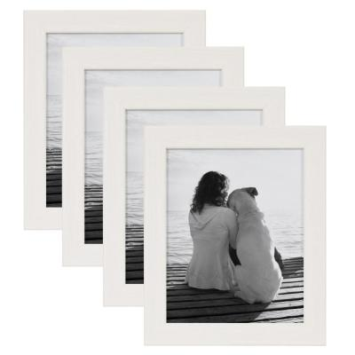 Wyeth 8 in. x 10 in. White Picture Frame (Set of 4)