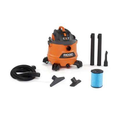 14 Gal. 6.0-Peak HP NXT Wet/Dry Shop Vacuum with Filter, Hose and Accessories