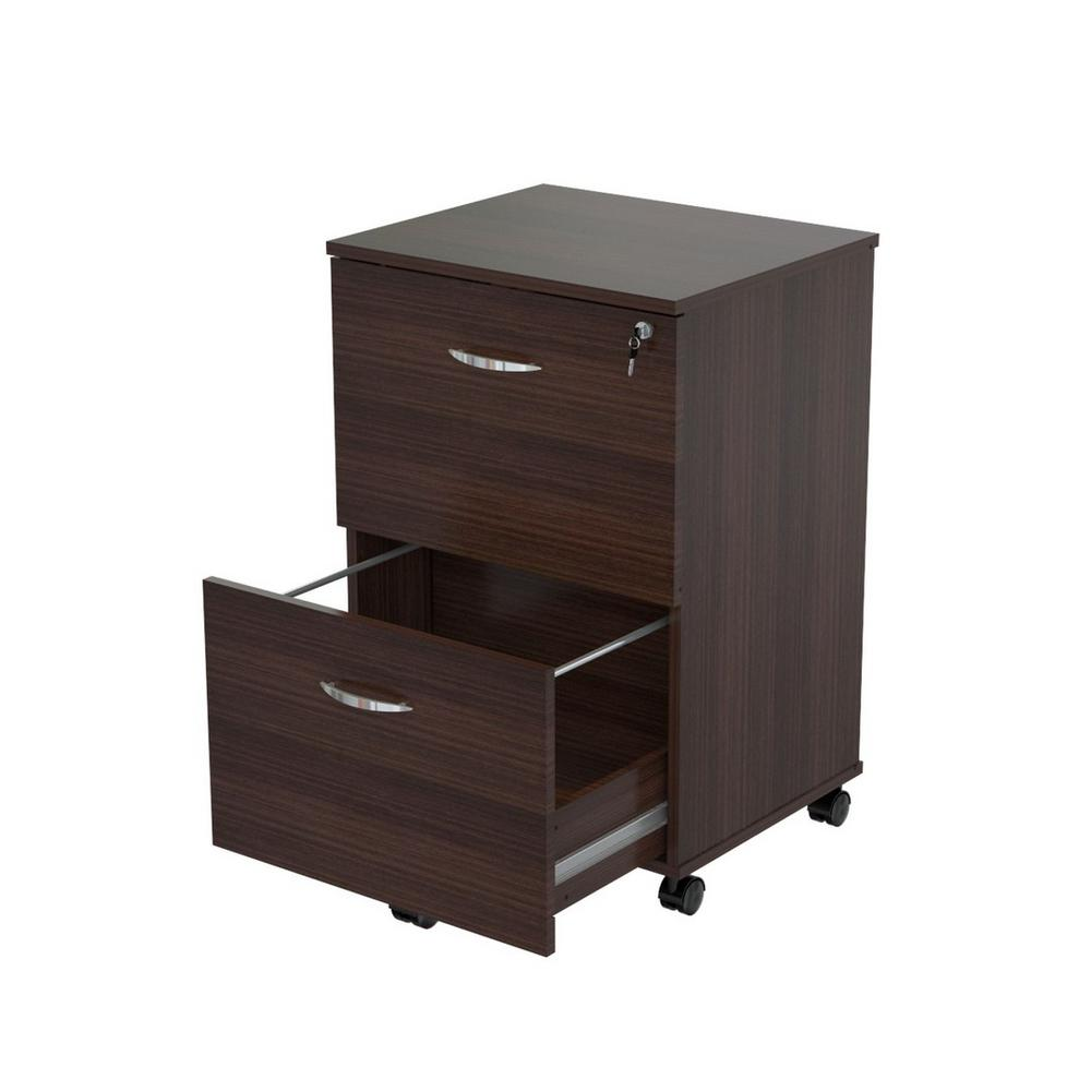 Inval Espresso Wengue Filing Cabinet Espresso Wengue Product Photo