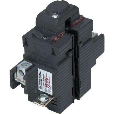 New UBIP 15 Amp 1-1/4 in. 2-Pole Pushmatic Replacement Circuit Breaker