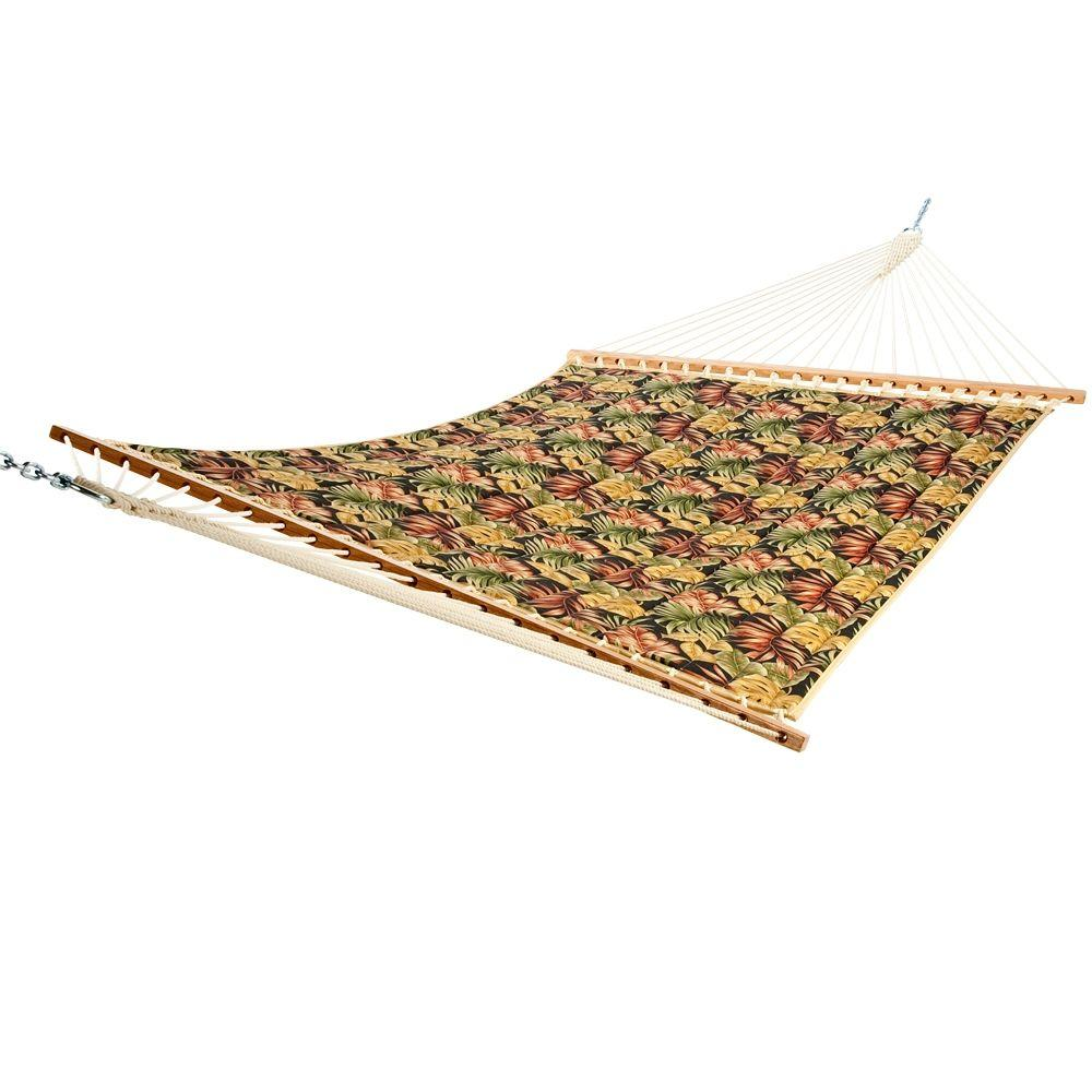 Castaway Twilight Palm Quilted Hammock-DISCONTINUED