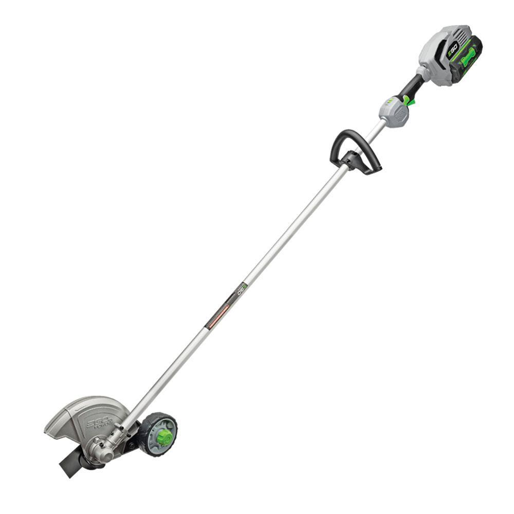 EGO 56V Lithium-Ion Cordless Electric Rear Motor Edger, 5.0 Ah Battery and Charger Included