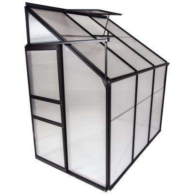4 ft. x 6 ft. Portable Lean-To Greenhouses for Outdoors Sunroom House for Plants
