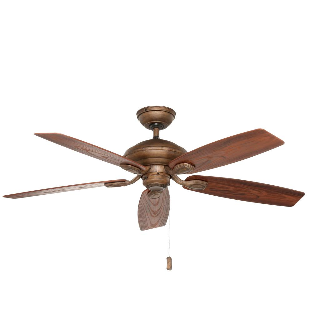 Casablanca Utopian 52 in. Indoor/Outdoor Aged Bronze Ceiling Fan