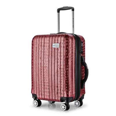 Luggage Tech The Nile Collection 20 in. Smart Luggage - Rose