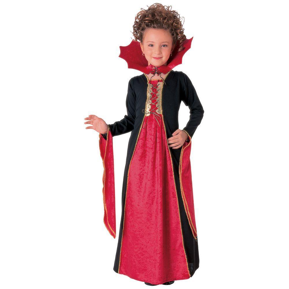 Medium Gothic Vampiress Child Costume