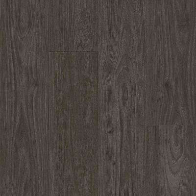 American Home Charcoal 6.5 in. x 48 in. Glue Down Luxury Vinyl Plank (34.66 sq. ft. / case)
