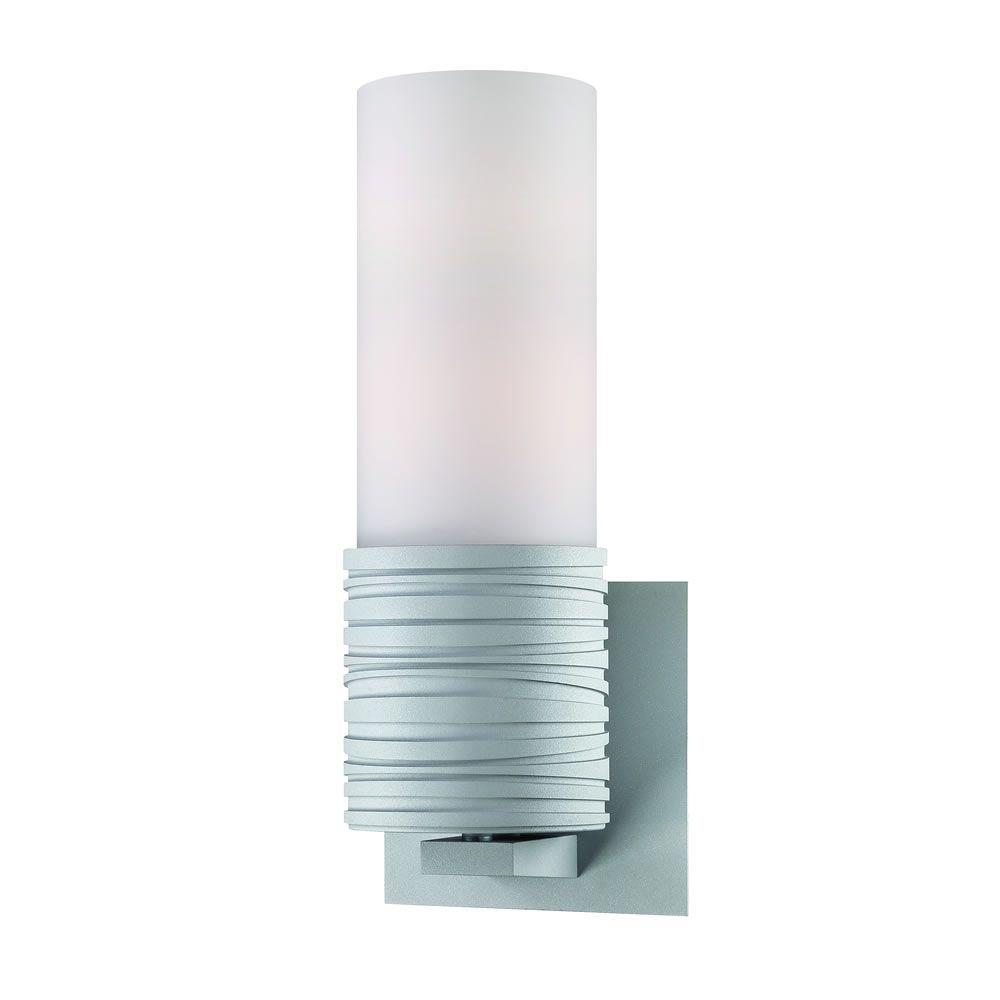 Philips Phoenix 1-Light Outdoor Graphite Wall Lantern
