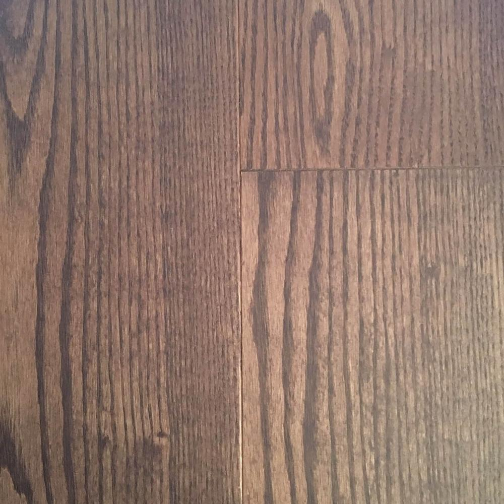 Heritage Mill Take Home Sample Oak Cityscape Engineered Click Hardwood Flooring 5 In. X 7 In.