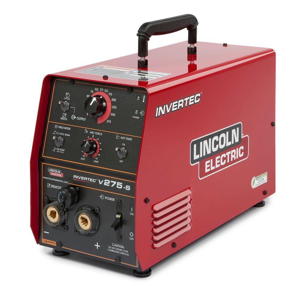 275 Amp Invertec V275-S Arc/Stick Welder, Single or 3 Phase Capable, 208V/230V/460V/575V or 220V/380V/400V/415V/440V