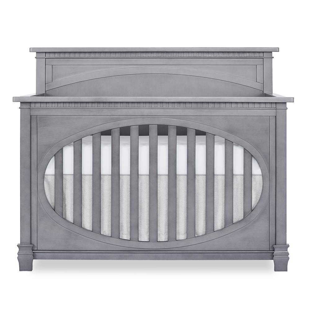 Santa Fe II Storm Grey Convertible Crib