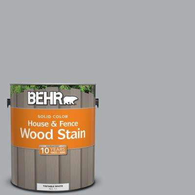 1 gal. #N500-3 Tin Foil Solid House and Fence Wood Stain