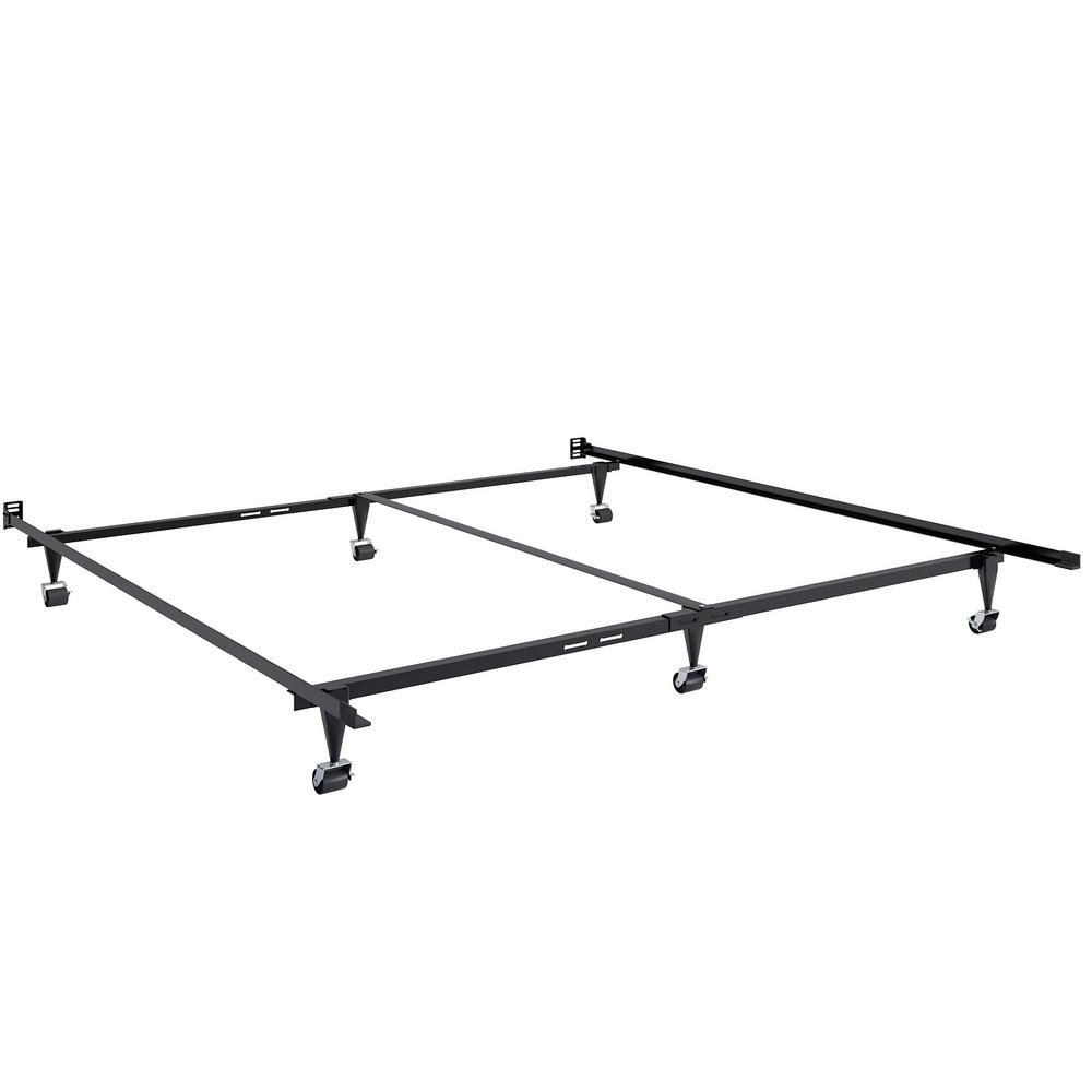 CorLiving Adjustable Queen or King Metal Bed Frame BAL-201-F