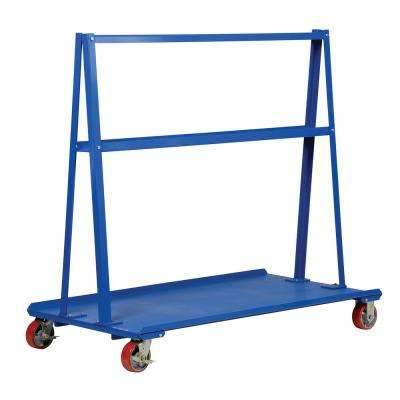2,000 lb. Capacity 30 in. x 48 in. A-Frame Cart
