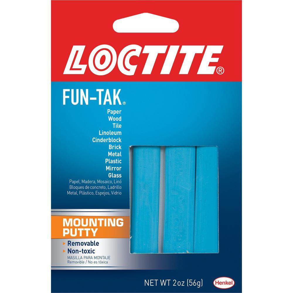 Fun Tak 2 oz. Mounting Putty (12-Pack)
