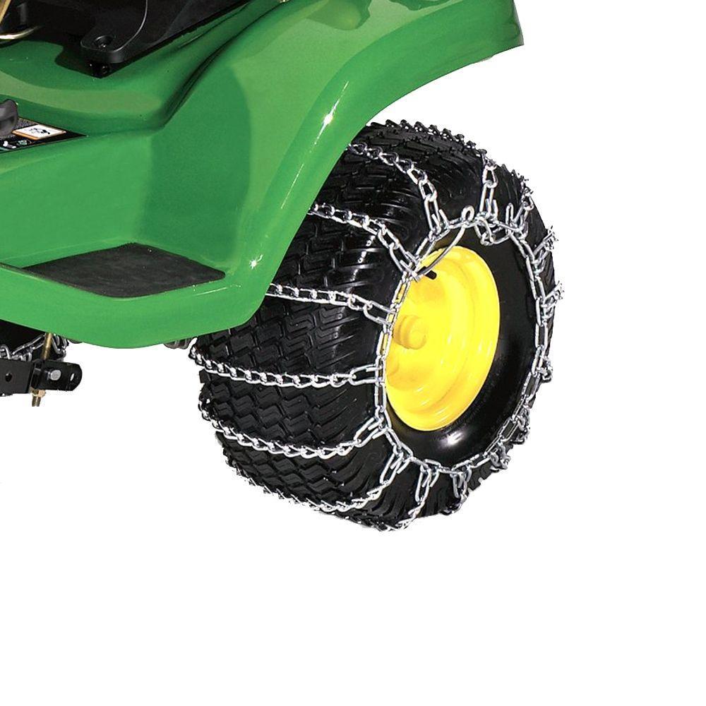 John Deere 22 in  Rear Tire Chains-BG20206 - The Home Depot