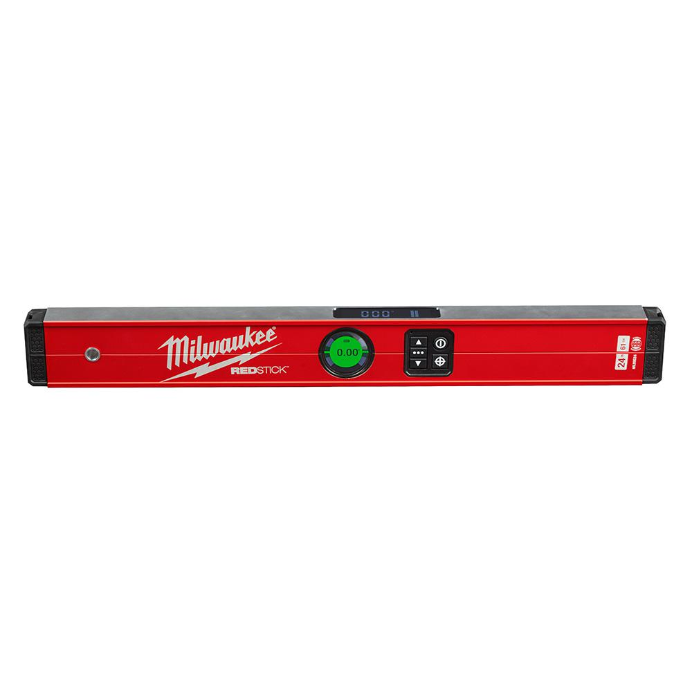 Milwaukee 24 in. Redstick Digital Box Level with Pin-Point Measurement Technology