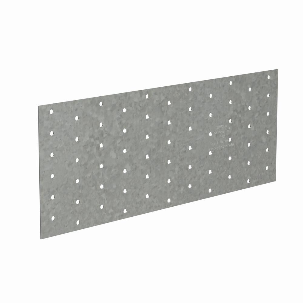 TP 4-1/8 in. x 11 in. 20-Gauge Galvanized Tie Plate