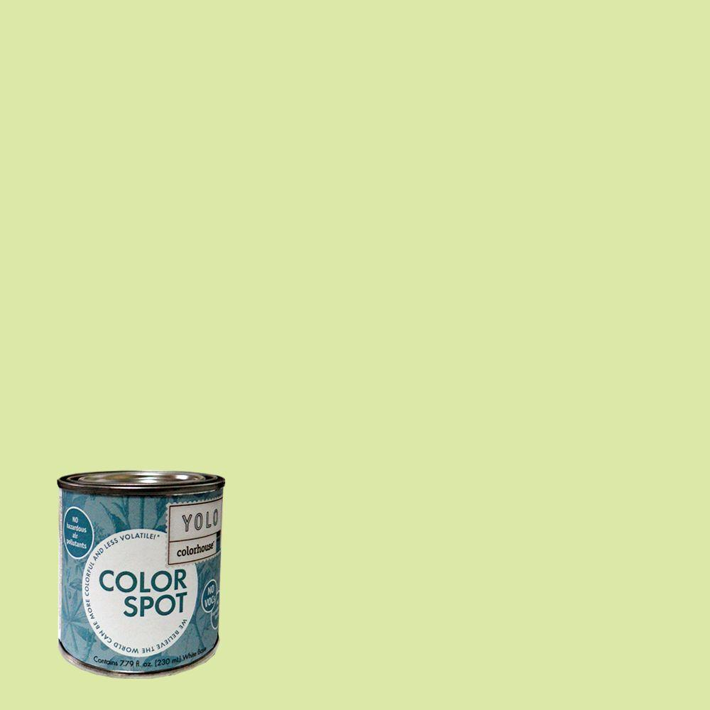 YOLO Colorhouse 8 oz. Sprout .05 ColorSpot Eggshell Interior Paint Sample-DISCONTINUED