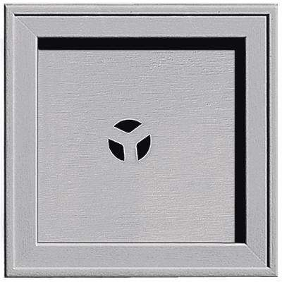 7.75 in. x 7.75 in. #016 Gray Recessed Square Universal Mounting Block