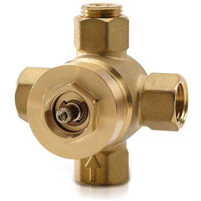 2-Way Diverter Shower Valve with Off