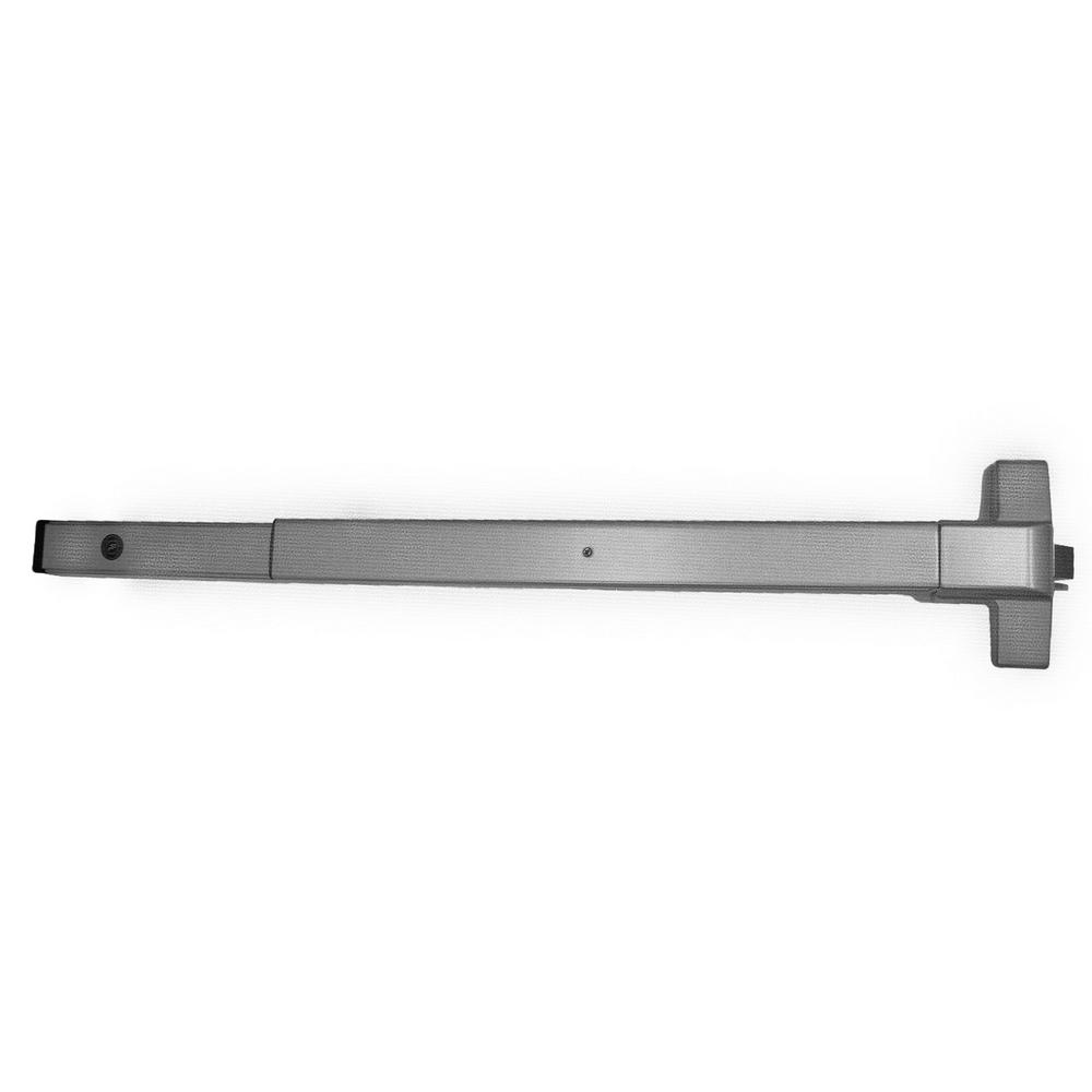 Fire Rated Rim Surface Exit Device in Satin Stainless Steel