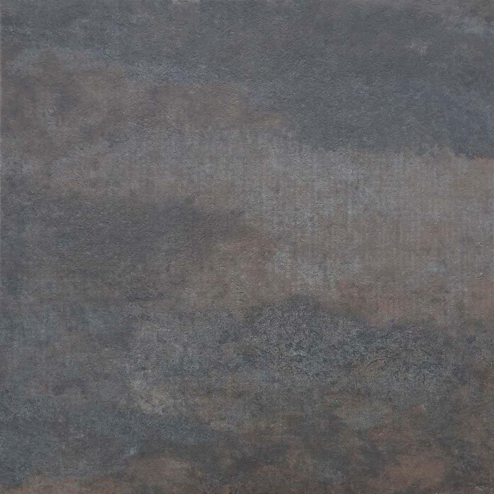TrafficMASTER Coal Oxidized Metal 18 in. x 18 in. Peel and Stick Vinyl Tile (27 sq. ft. / case)
