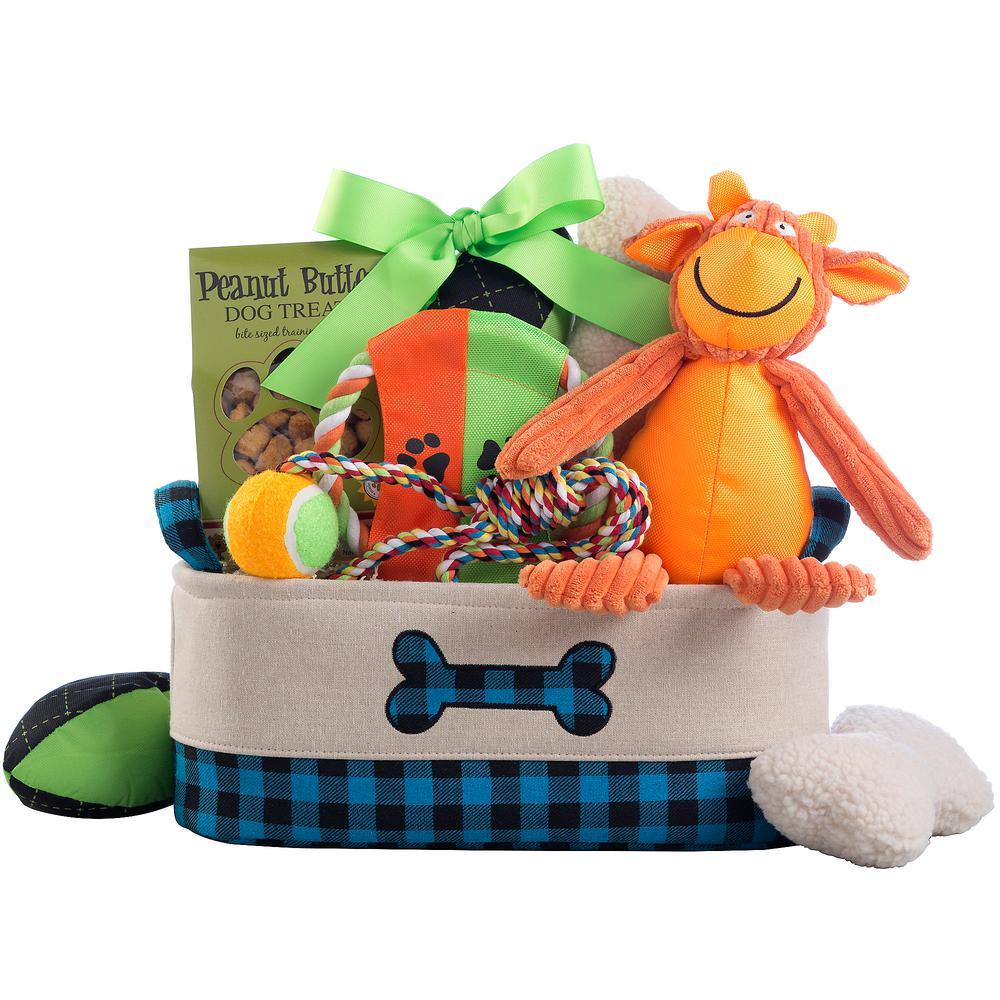 Happy Dog Pe Gift Basket