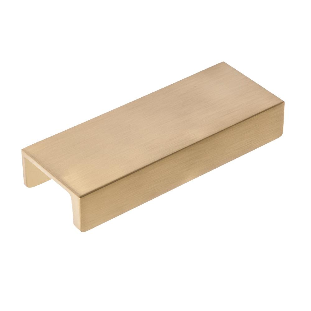 Sumner Street Home Hardware Martin 3 in. Center-to-Center Satin Brass Drawer Lip Pull