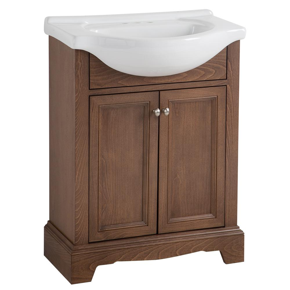 26 28 In Single Sink Bathroom Vanities Bath The Home Depot