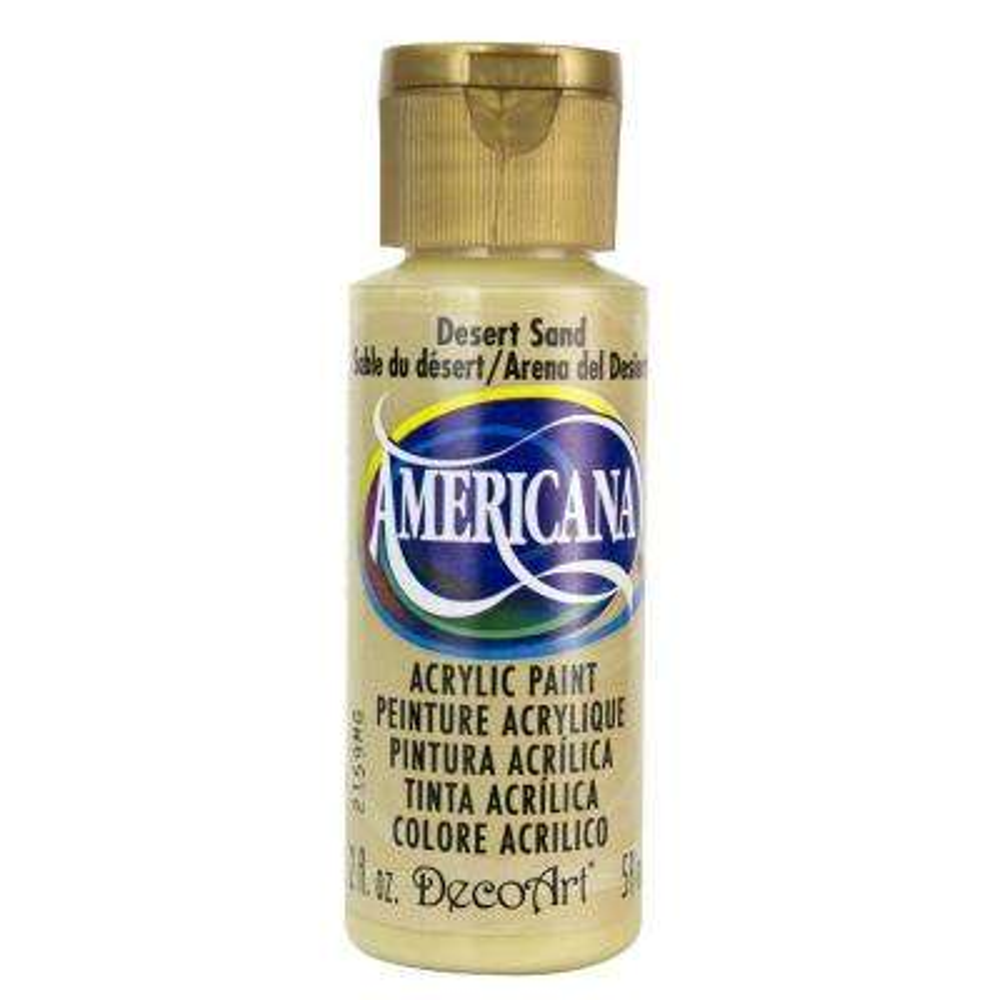 Americana 2 oz. Desert Sand Acrylic Paint