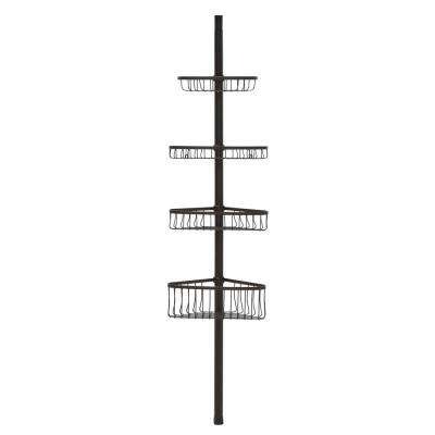 York Tension-Pole Caddy in Bronze