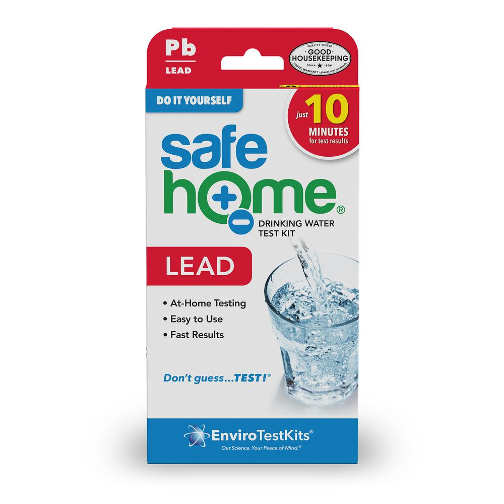 Safe Home Do It Yourself Lead In Water Test Kit Sh Pbdiy1 The Home Depot