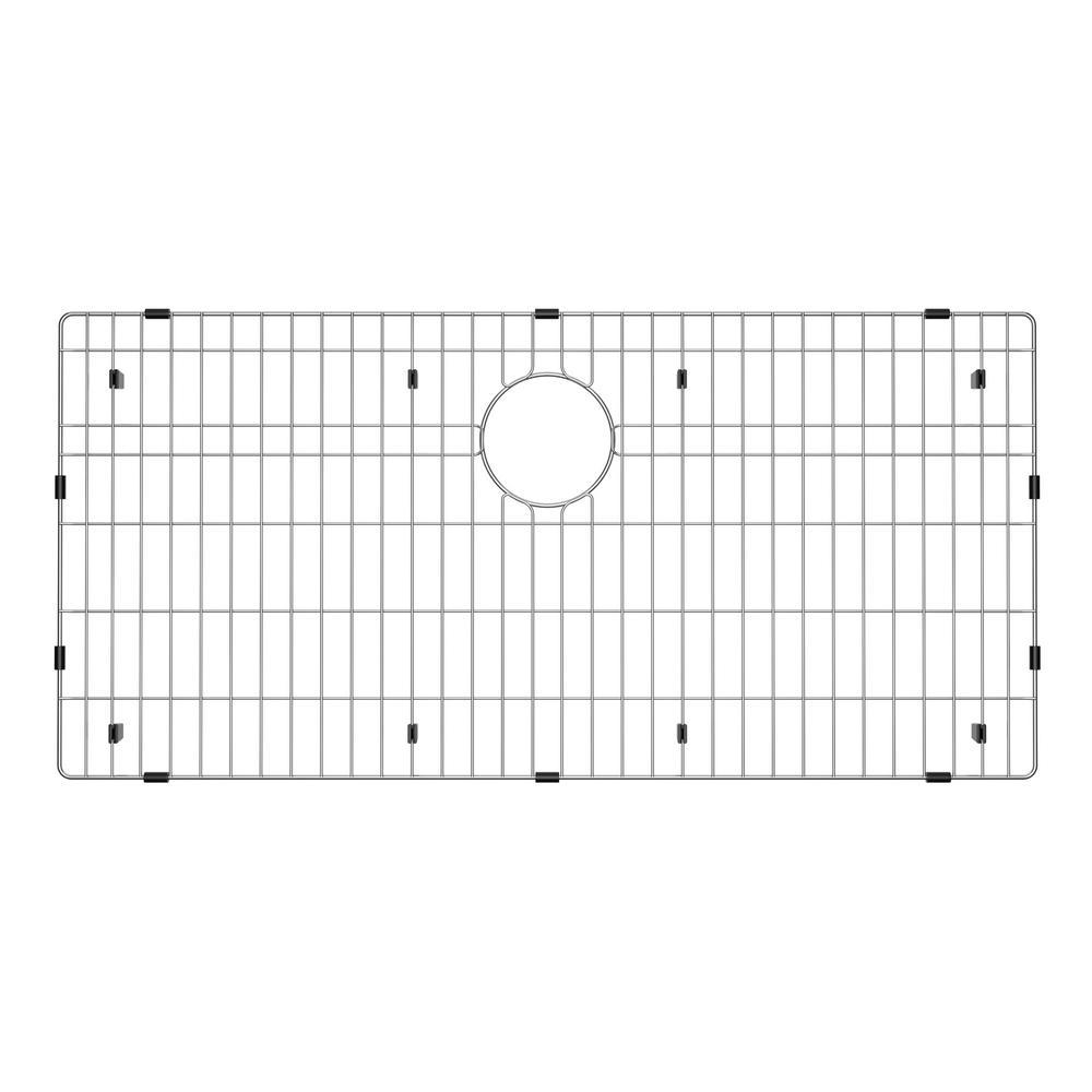 33 in. x 16 in. Stainless Steel Kitchen Sink Bottom Grid