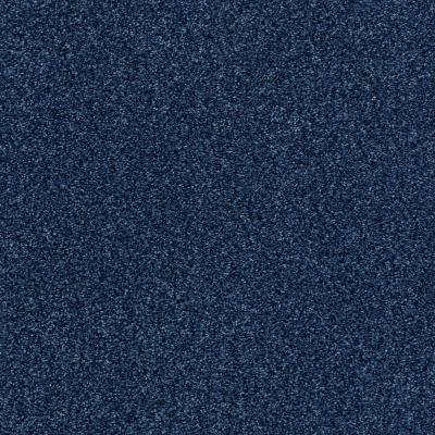 Karma II - Color Denim Texture 12 ft. Carpet