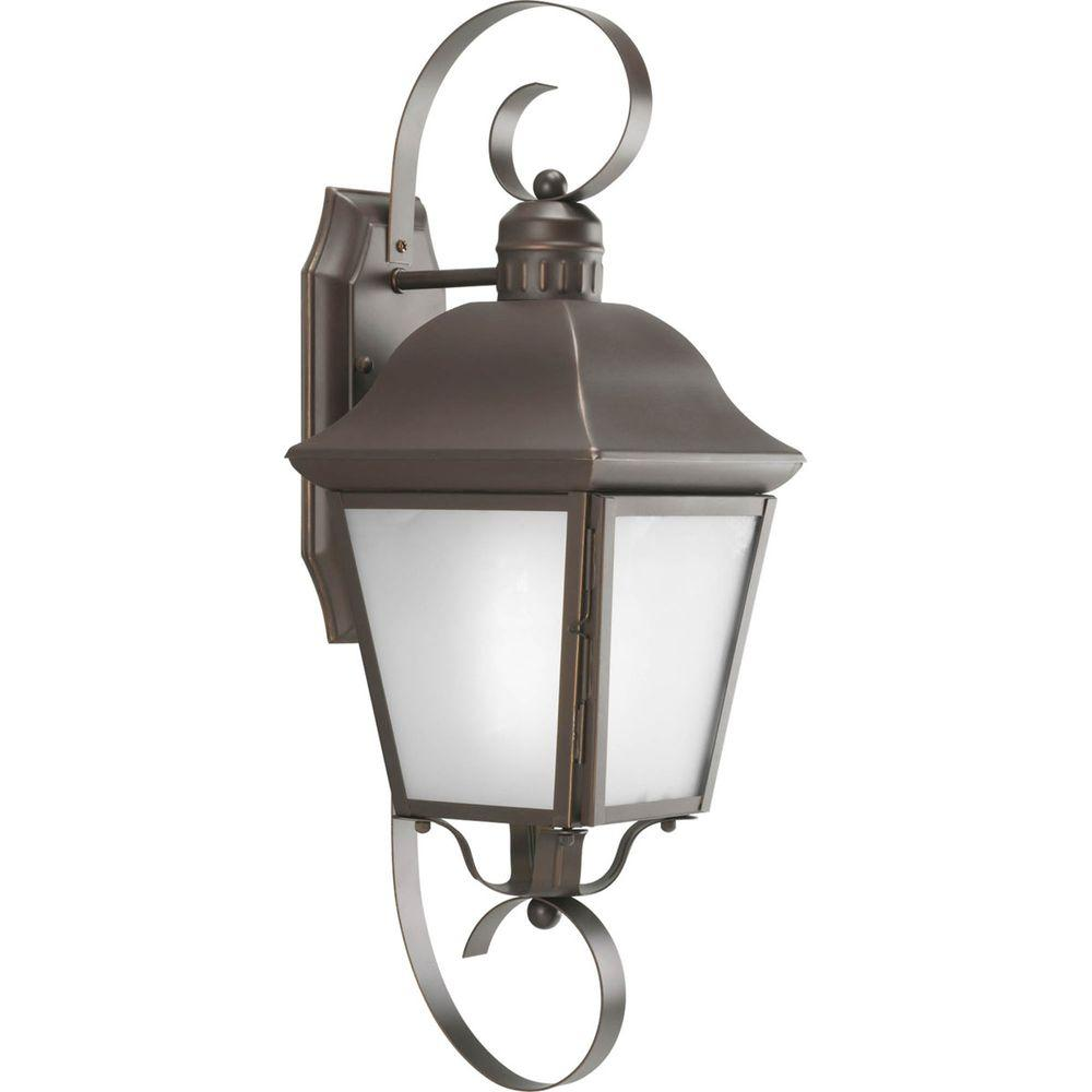 Andover Collection Wall Mount Outdoor Antique Bronze Wall Lantern