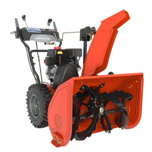Click here to buy Ariens Deluxe 28 inch 2-Stage Electric Start Gas Snow Blower with Auto-Turn Steering by Ariens.