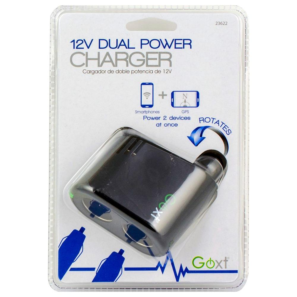 12-Volt Dual Power Charger