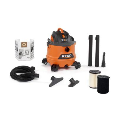 14 Gal. 6.0-Peak HP NXT Wet/Dry Shop Vacuum with Filter, Wet Application Filter, Hose and Accessories