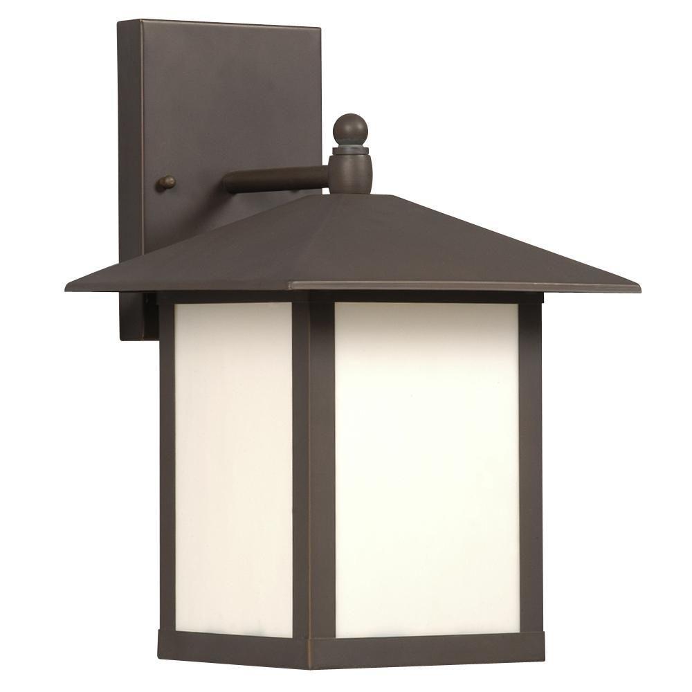 Filament Design Negron 1-Light Outdoor Old Bronze Wall Lantern